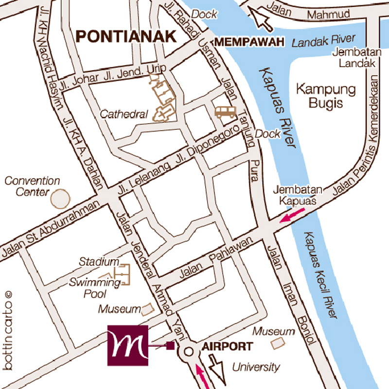 Mercure Pontianak Find Us